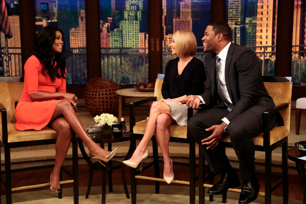 Gabrielle Union Live With Kelly And Michael