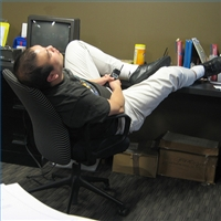 lazy co worker