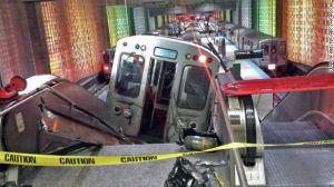 train derailment Chicago