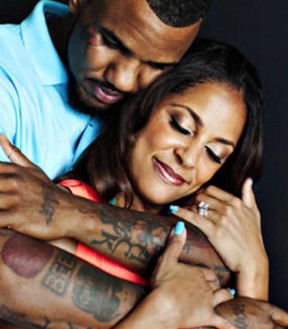 The Game and Fiancee Tiffany Cambridge