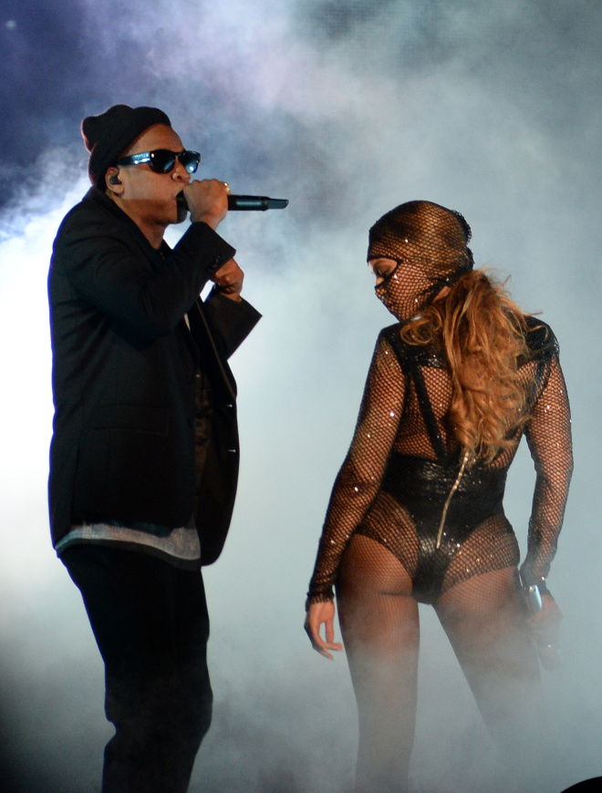 "Beyonce And Jay Z Take The Stage During The First Night Of Their ""On The Run"" Tour In Miami"