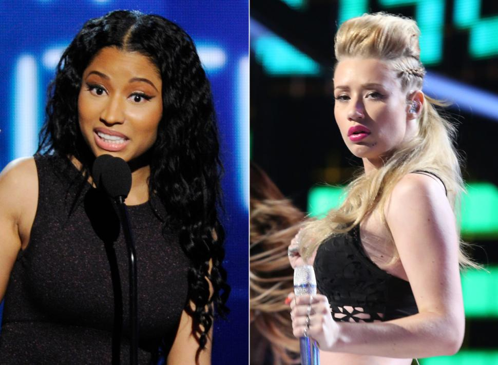 minaj iggy getty