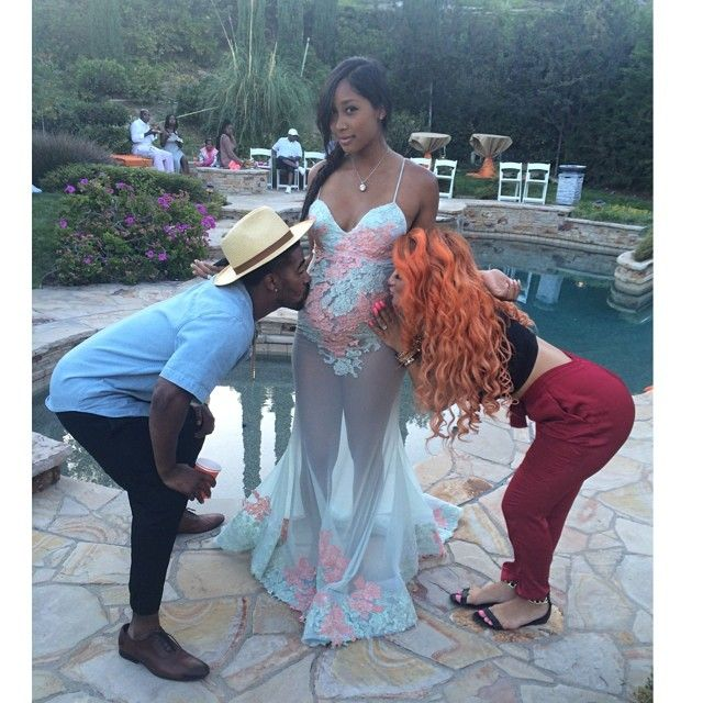 Omarion U0026 Girlfriend Apryl Jones Baby Shower!! [PICS]