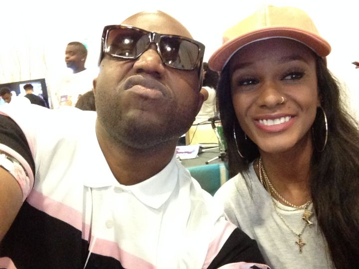 Rico Love and Tiara Thomas