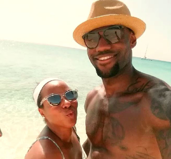 LeBron-Savannah-James-Vacation-2014-5