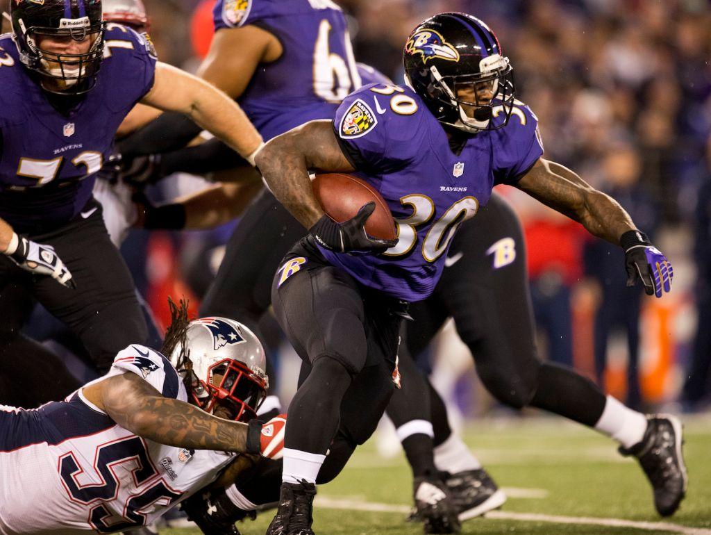 New England Patriots Vs. Baltimore Ravens At M&T Bank Stadium