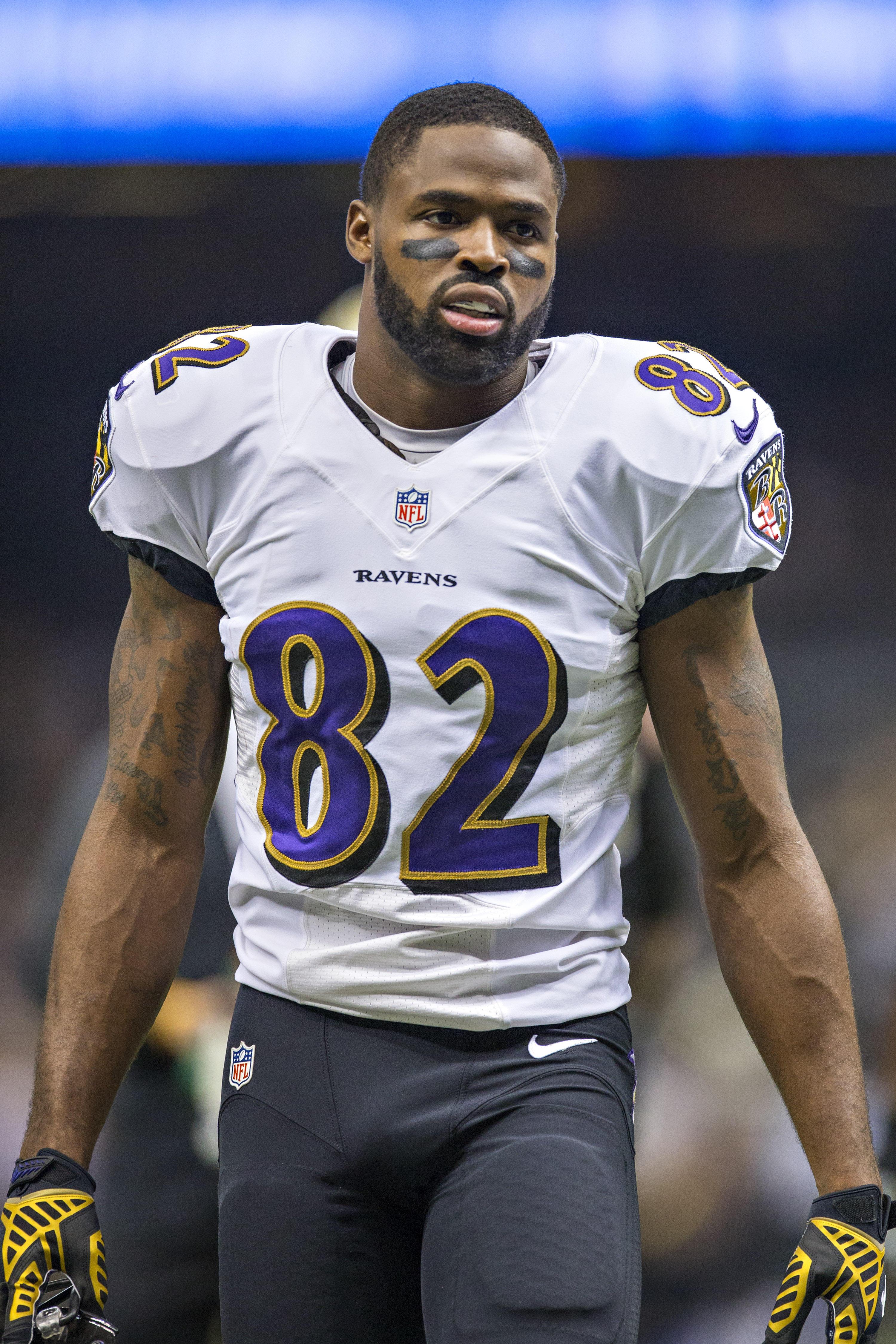 Torrey Smith of Baltimore Ravens