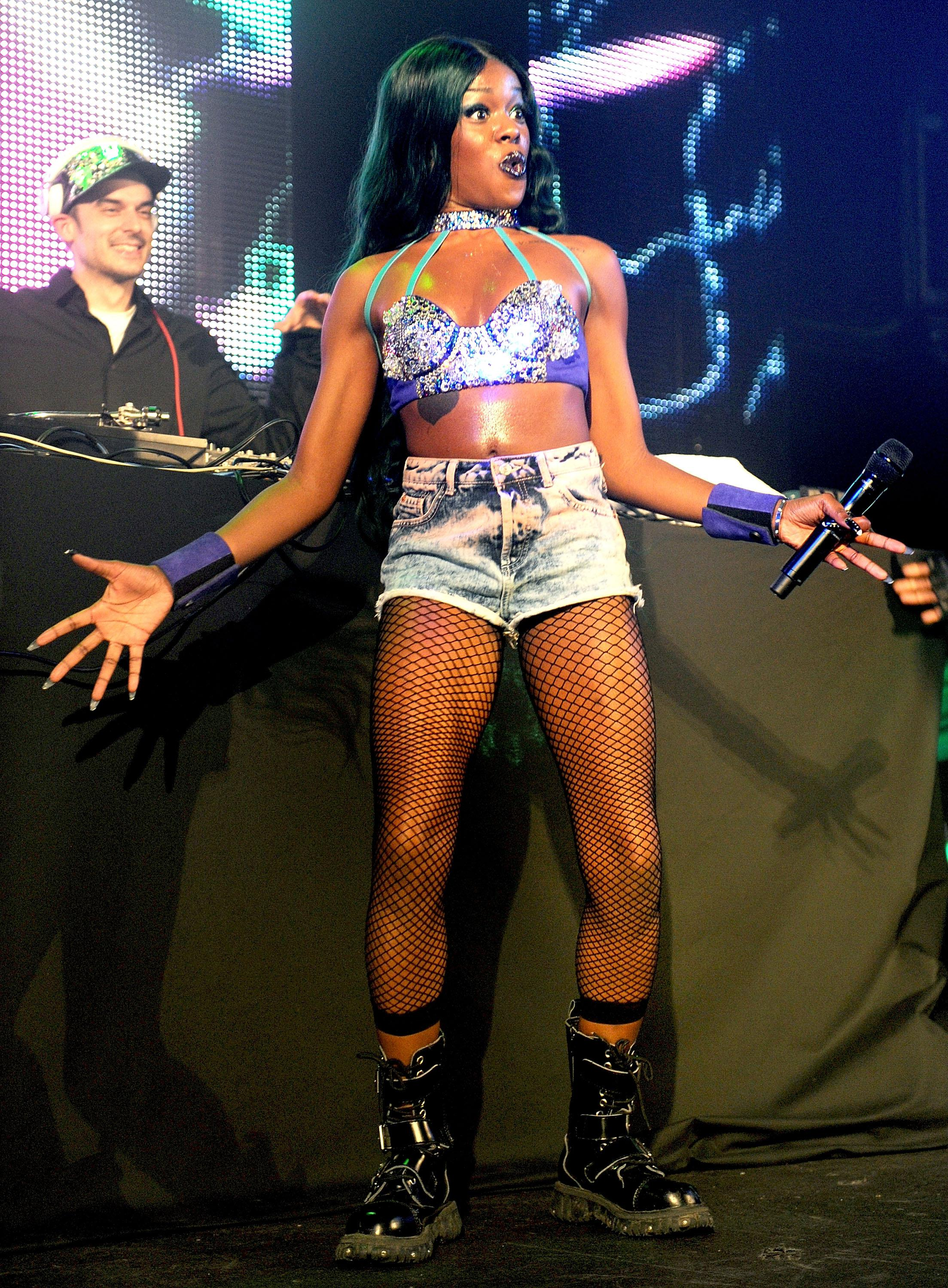 Azealia Banks Performs At Manchester Academy