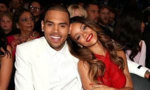 Chris Brown and Rihanna