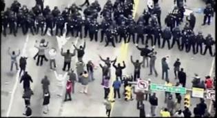 Baltimore Riot - U-Tube