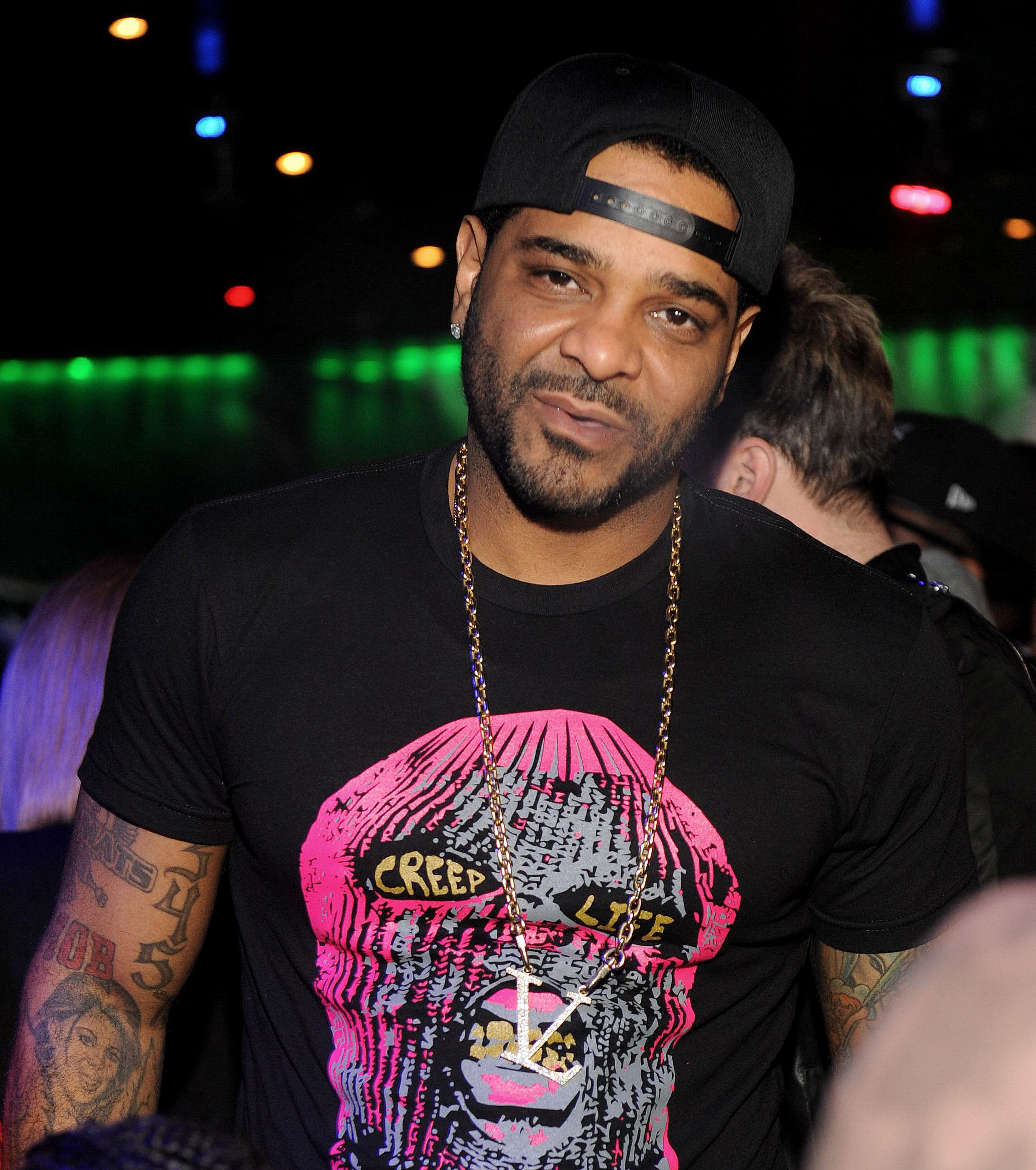 Jim Jones And Rico Love Party At Reign