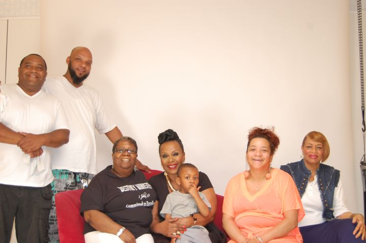 Mrs Vanessa & her family