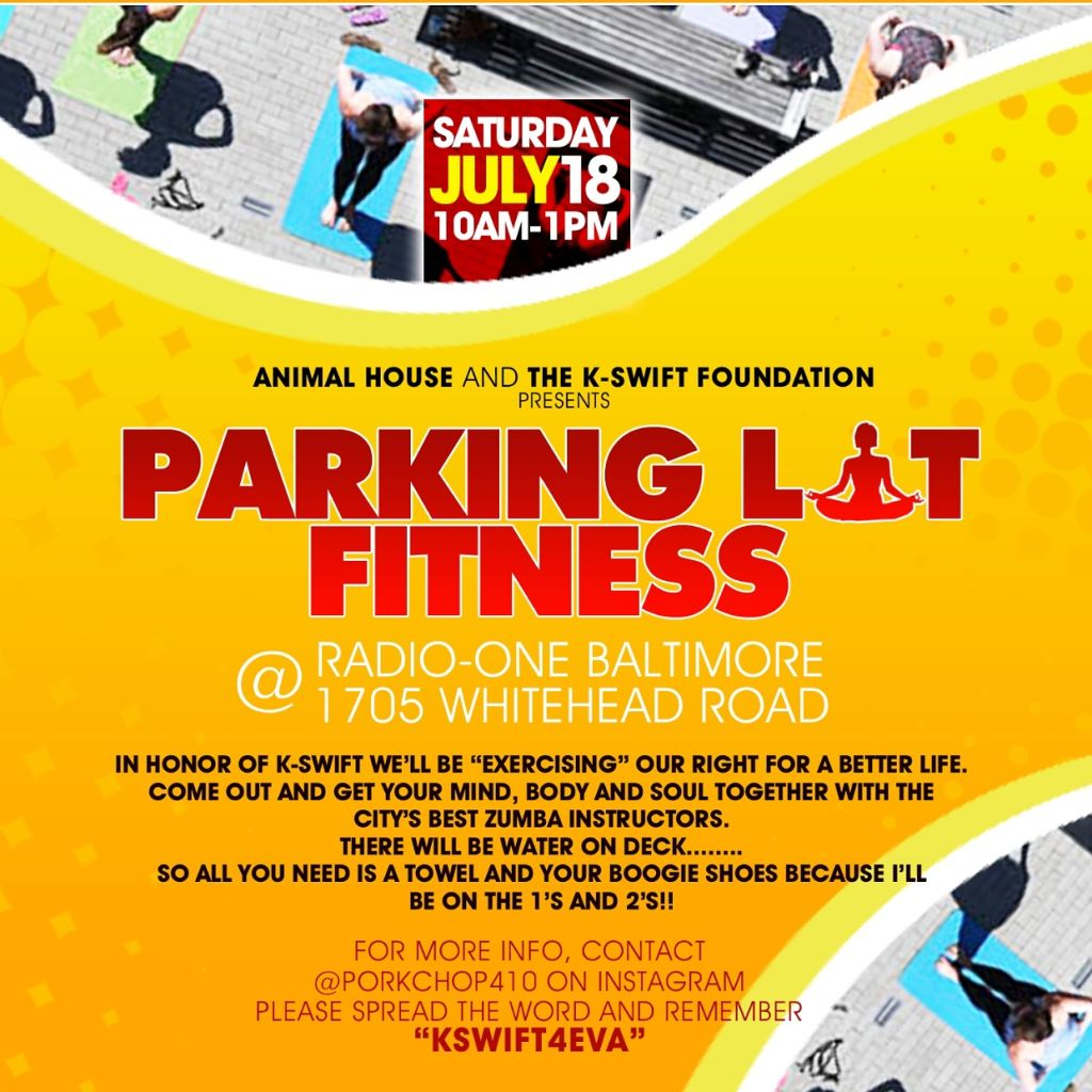Parking Lot Fitness Graphic