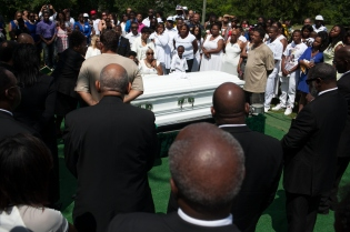 Mourners Attend Wake And Funeral For Sandra Bland In Illinois