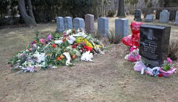 Fans Visit The Burial Site Of Whitney Houston