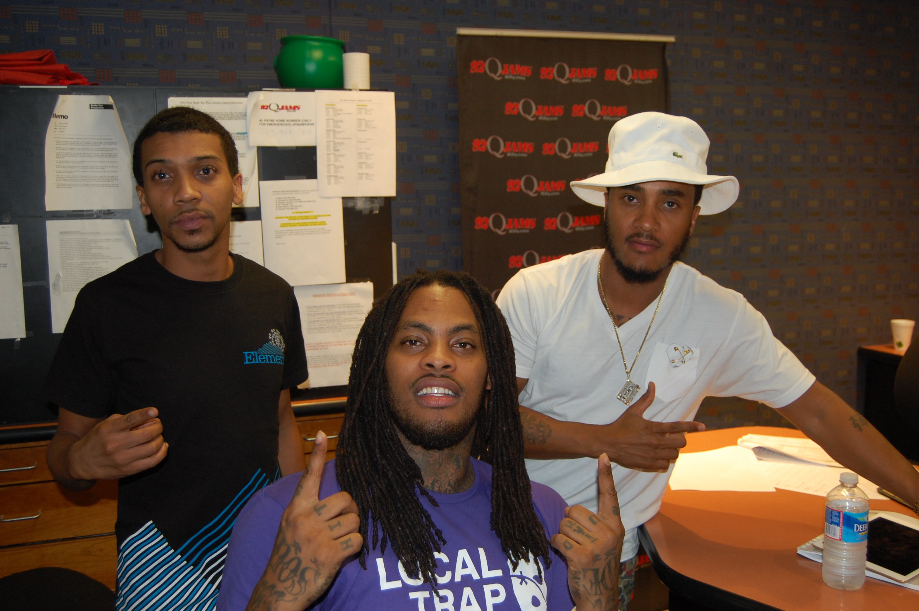 Waka Flocka Flame in the Studio with The FAM