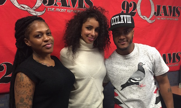 Mya, DJ Quicksilva, Lil Mo at 92Q Jams