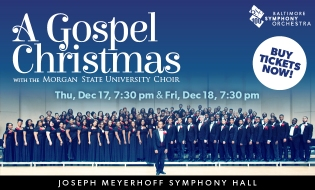 A Gospel Christmas with the Morgan State University Choir