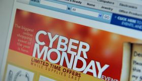 Cyber Monday specials are seen on the Co
