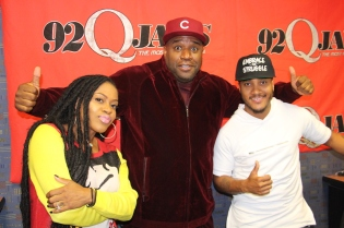 Corey Holcomb with DJ Quicksilva and Lil Mo