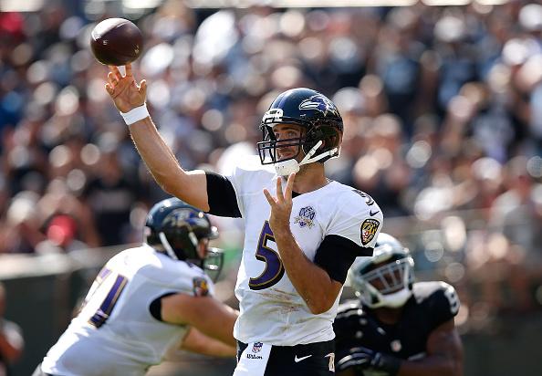 Baltimore Ravens v Oakland Raiders