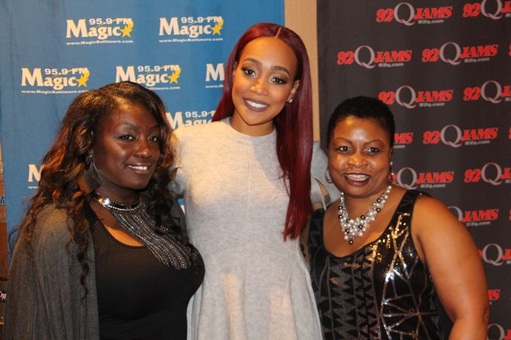 #92qCodeRed Pamper Party with Monica