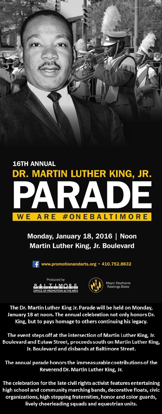 MLK Baltimore 2016