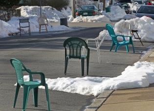 Snow Parking Becomes A Tense Game Around Boston
