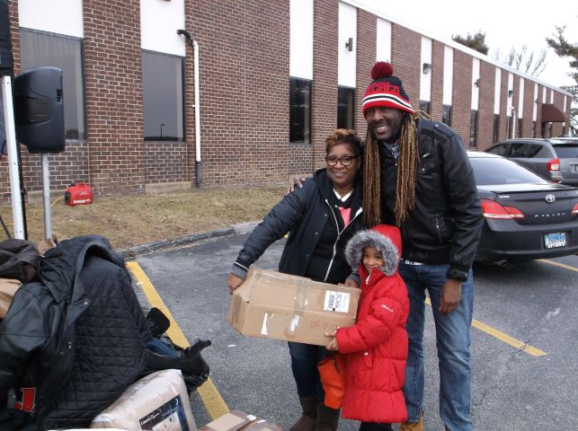 Radio One Baltimore Coat Drive