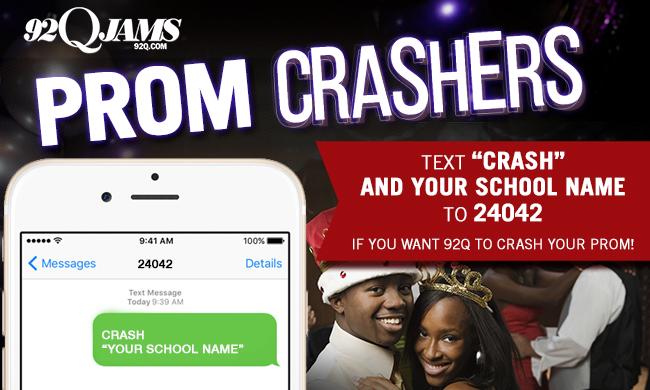 92q prom crashers 2016