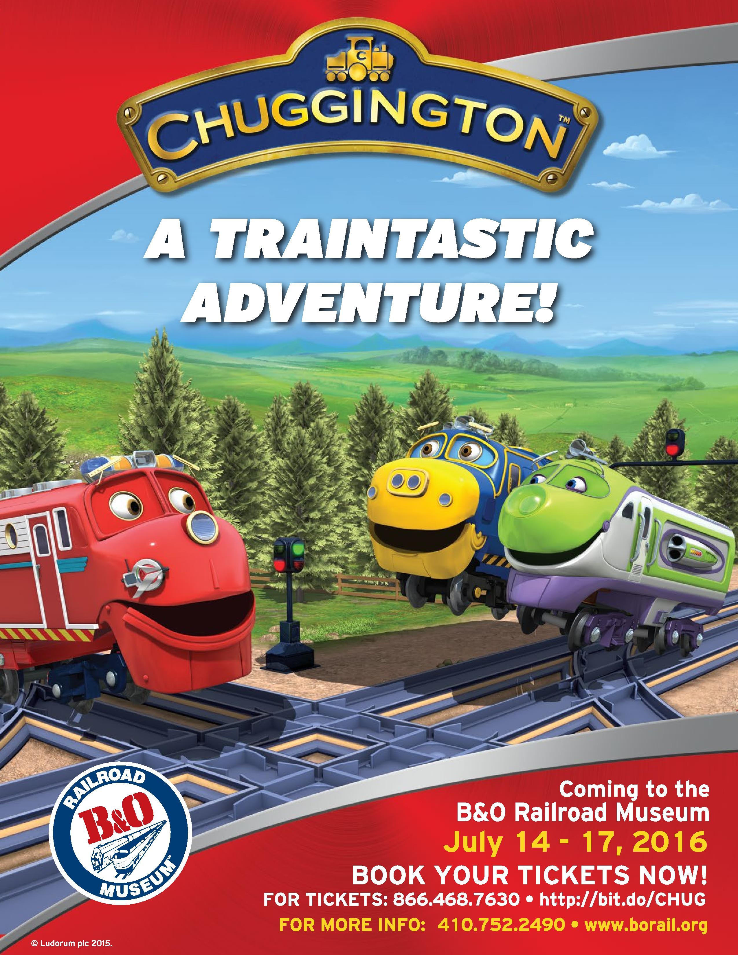 CHUGGINGTON: A Traintastic Adventure!