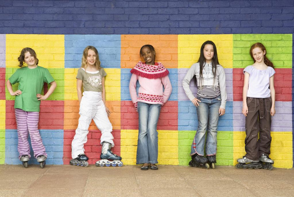 Secondary Students in Playground