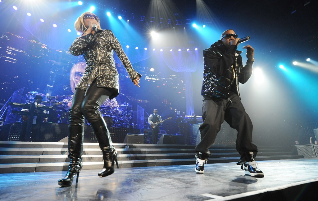 Jay-Z And Mary J. Blige - Heart of the City Tour at Philips Arena - Location: Atlanta