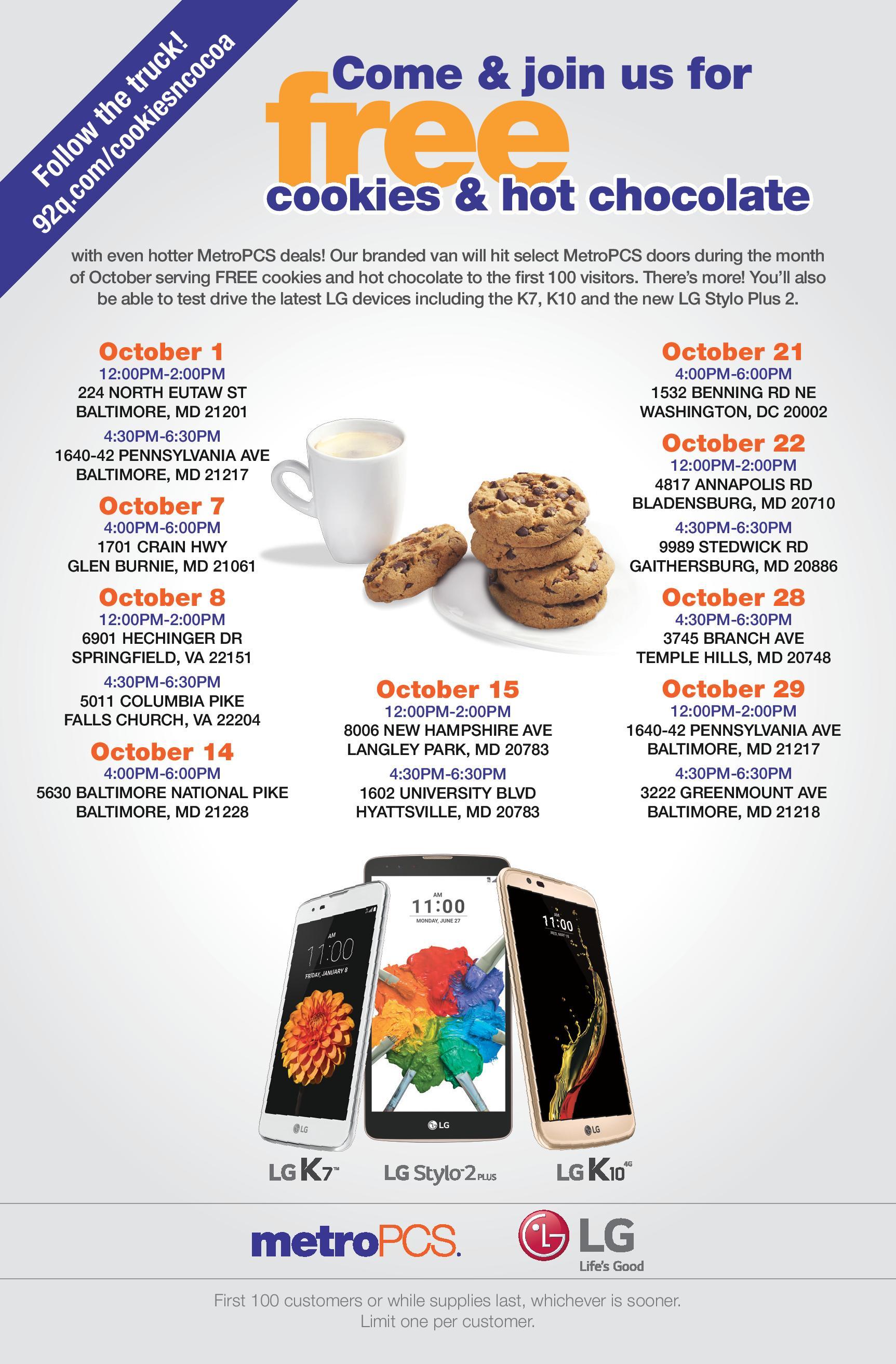 Cookies n Cocoa Q4 2016