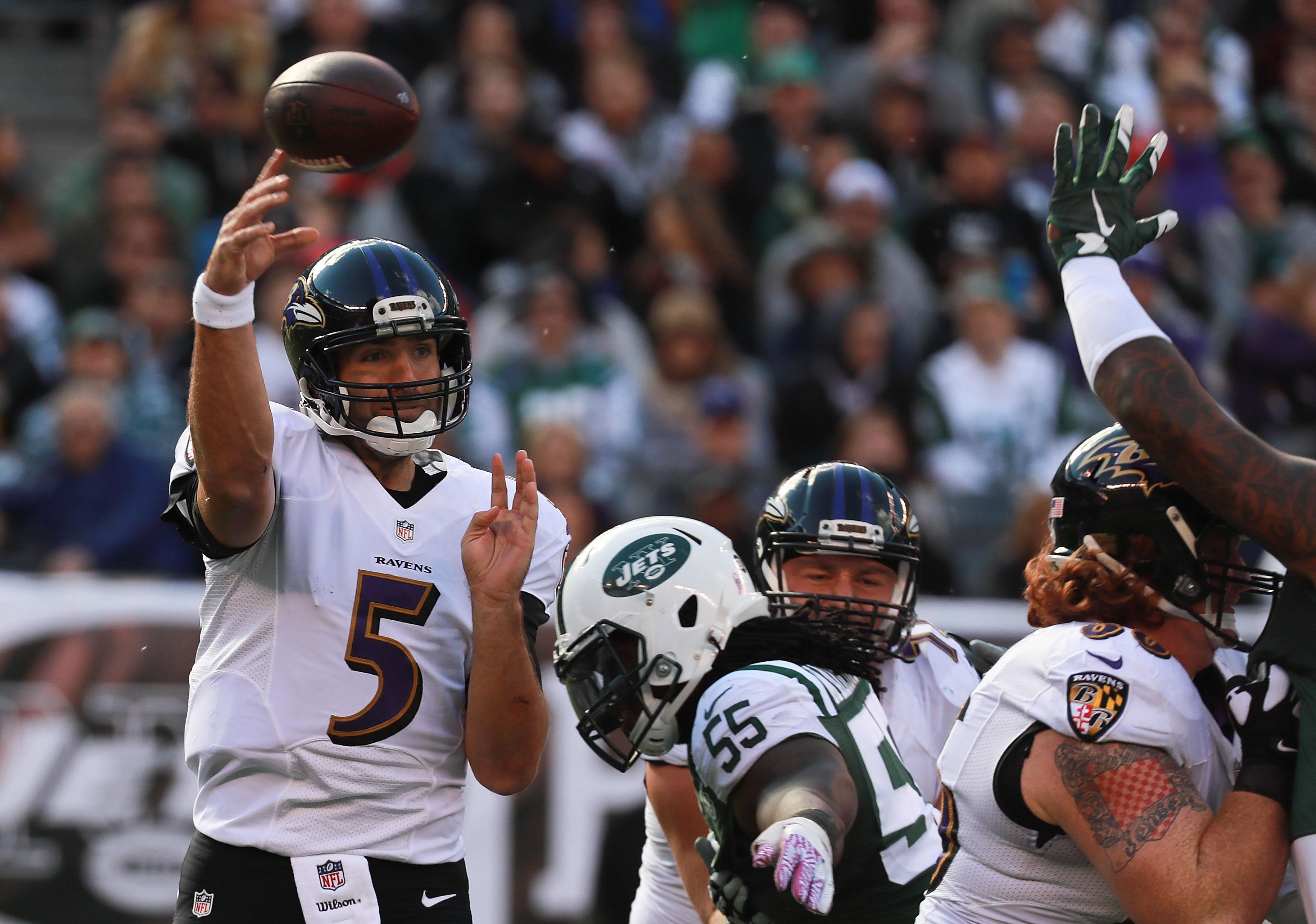 Baltimore Ravens v New York Jets