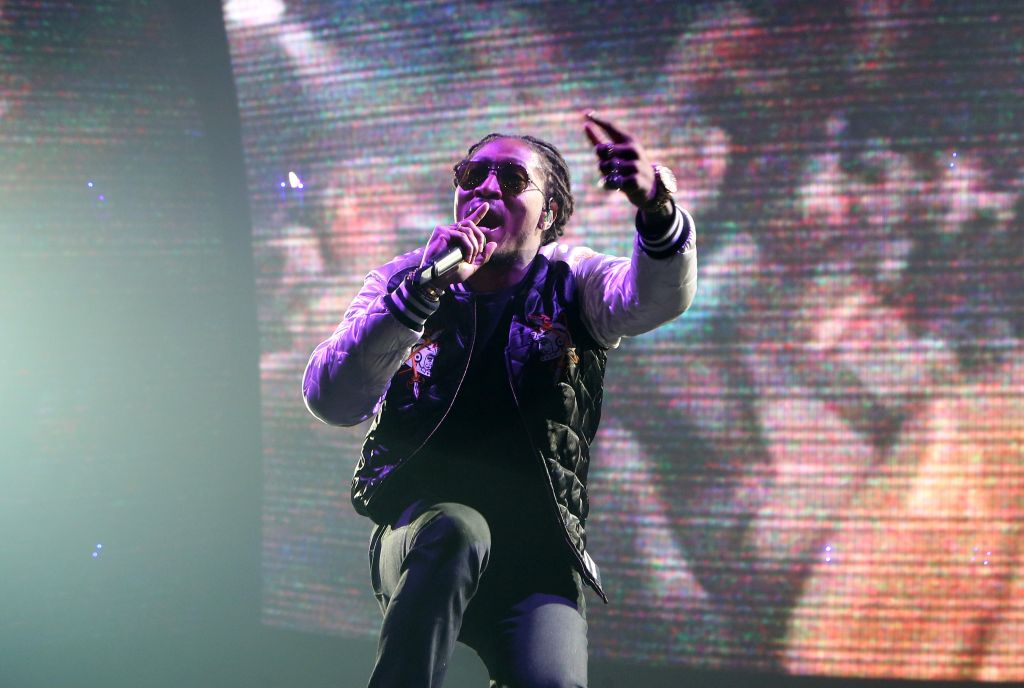 Drake And Future In Concert At T-Mobile Arena In Las Vegas