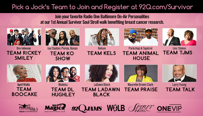 Survivor Soul Stroll flyer