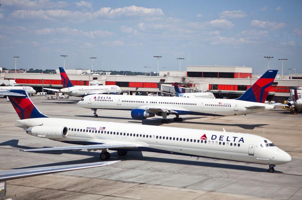USA - Transportation - Delta Airlines Hub at Hartsfield-Jackson Atlanta International