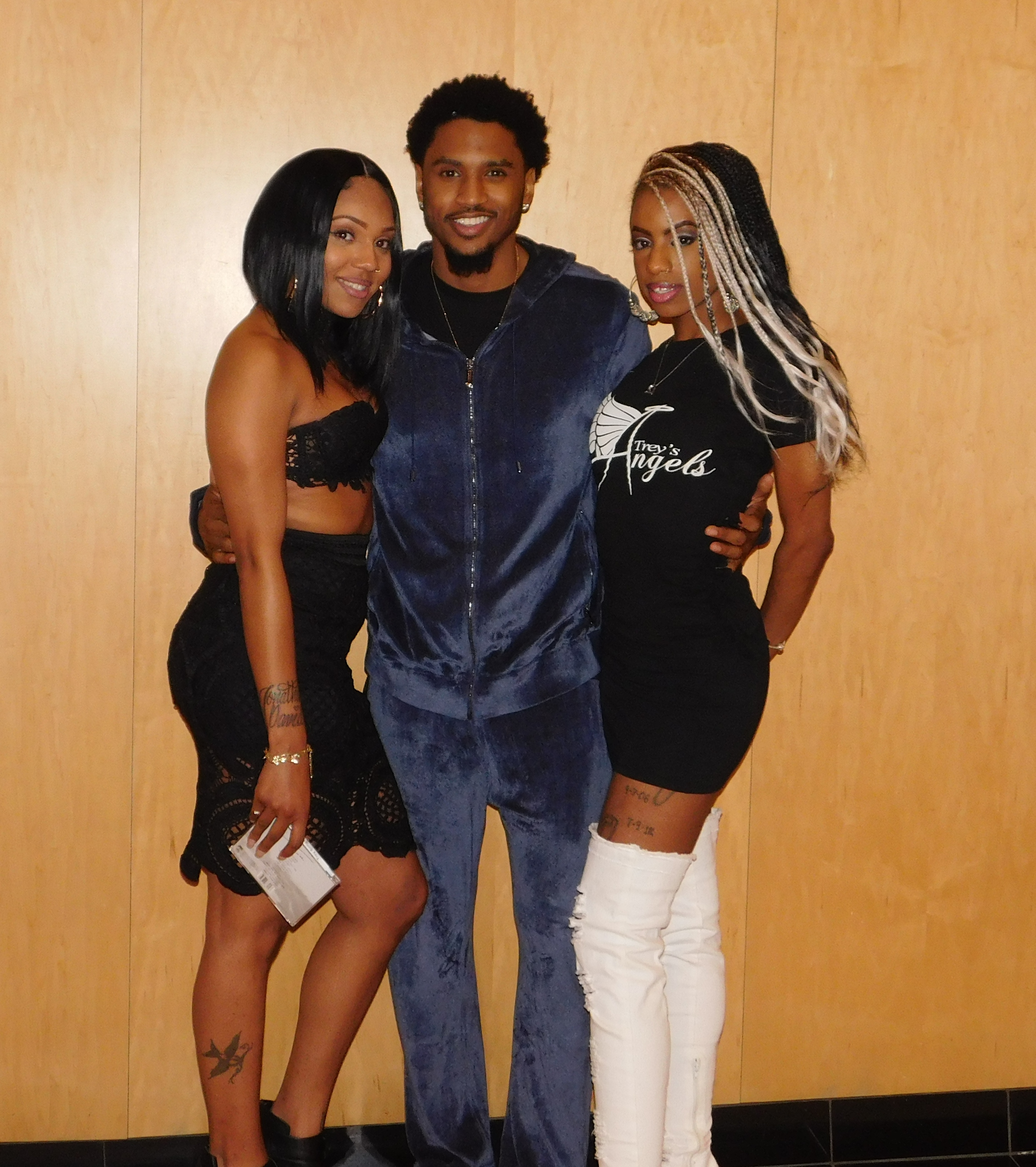 Trey Songz Meet & Greet In Baltimore