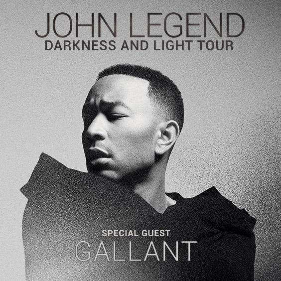 John Legend Darkness & Light Tour