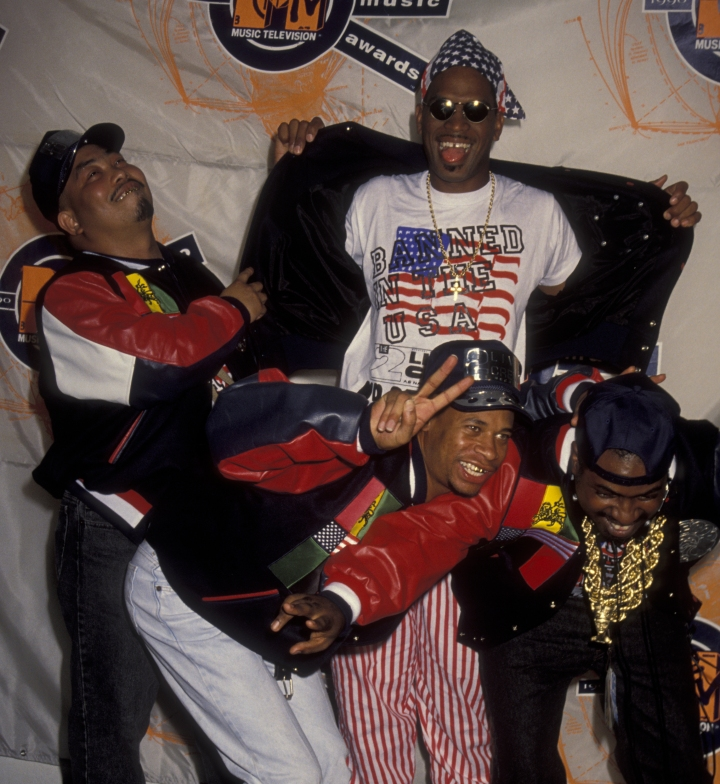 Fresh Kid Ice (far left) of 2 Live Crew, 53