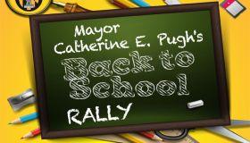 Baltimore Mayor's Back to School Rally
