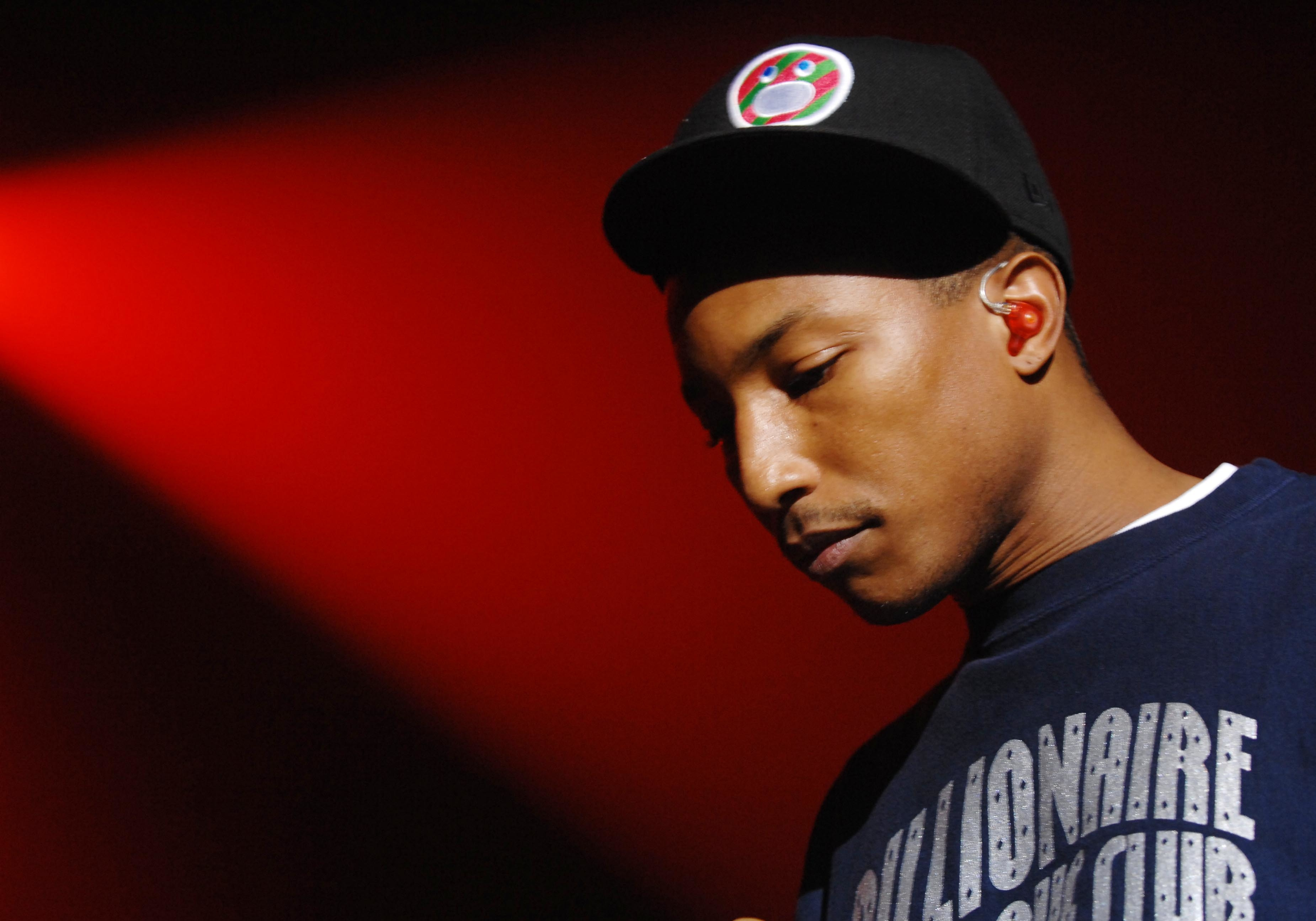 UK - Pharrell Williams Performs in London