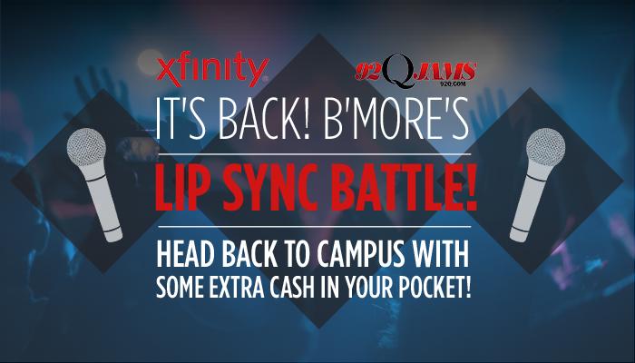 Lip Sync Xfinity 2017 2