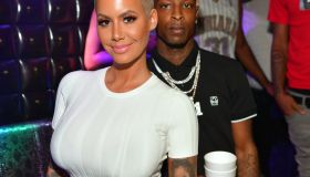 Amber Rose Hosts Medusa Lounge