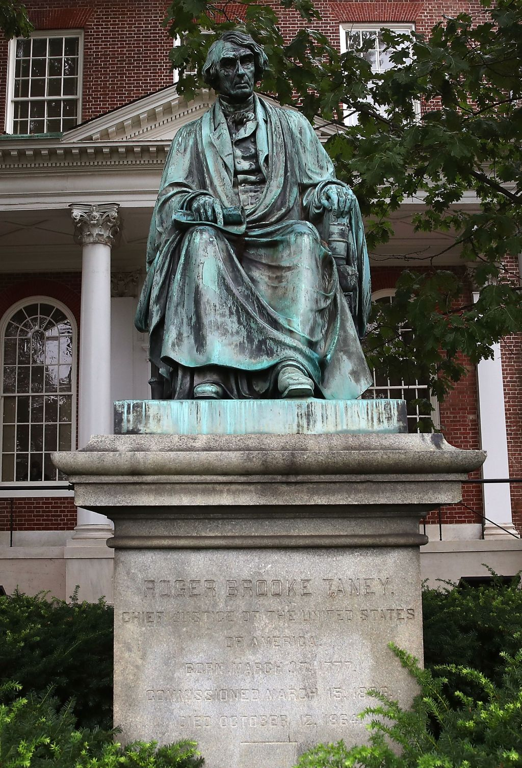 Maryland Governor Calls For Removal Of Confederate Era Former Supreme Court Justice Roger B. Taney Statue In Annapolis