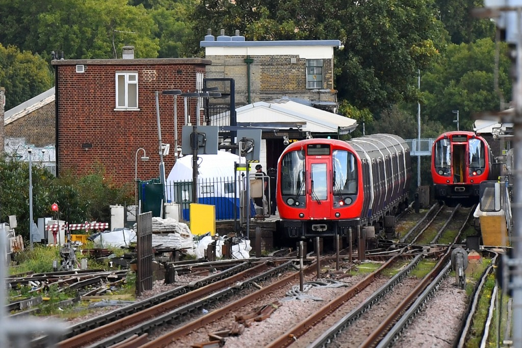 Terror Incident At Parsons Green Underground Station