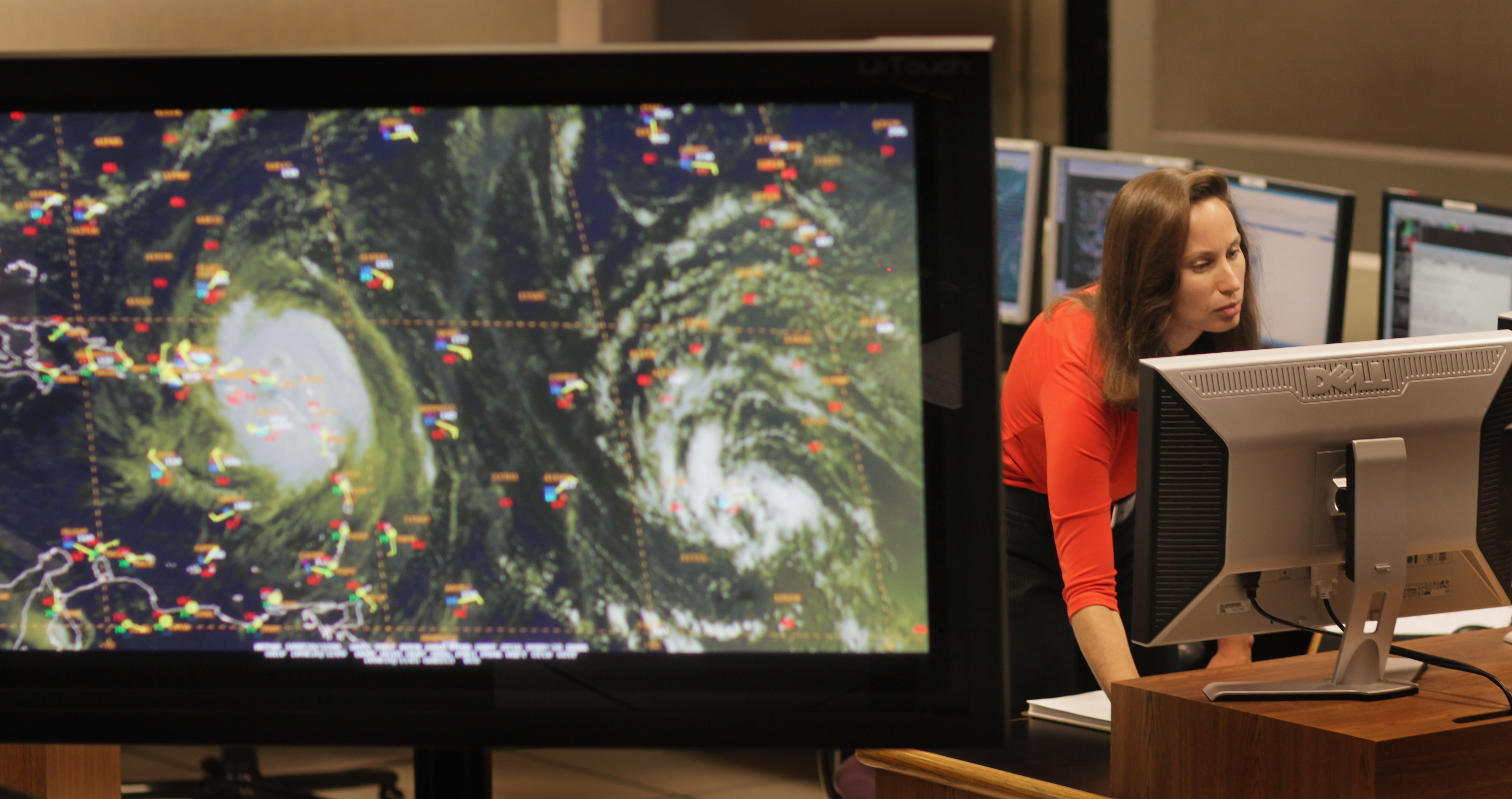 National Hurricane Center Monitors Hurricane Earl As It Tracks Towards U.S.