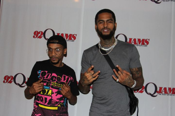 Dave East Meet & Greet in Baltimore