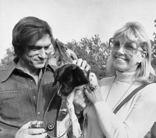 Doris Day and Hugh Hefner